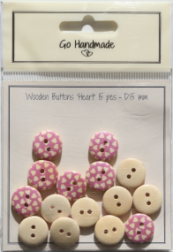 Wooden_buttos_17178_Heart_pink_15mm_15pcs